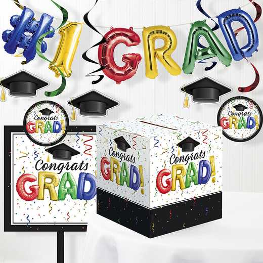 DTC3878E1A: CC #1 Grad Decorations Kit