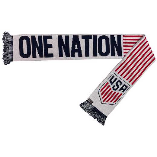 USA-2016-ONOT: US Soccer Scarf - One Nation One Team