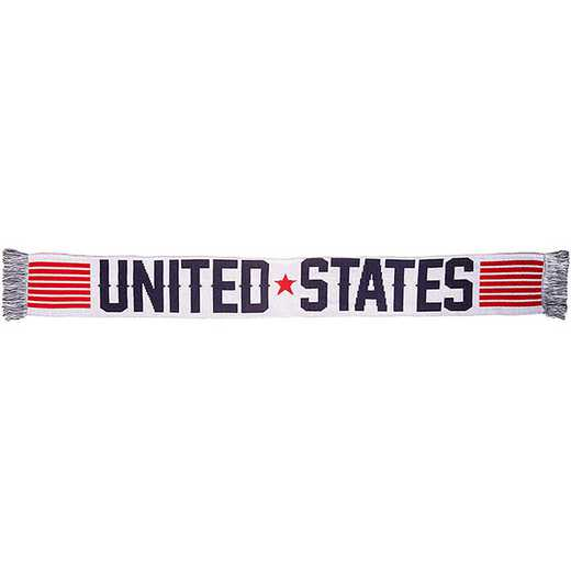 USA-2016-STRP: US Soccer Scarf - Stripes