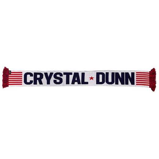 USWNT-PA-DUNN19: USWNT Scarf - Crystal Dunn #19