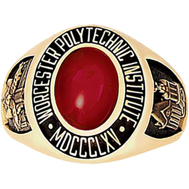 Worcester Polytechnic Institute Women's Petite Traditional Ring