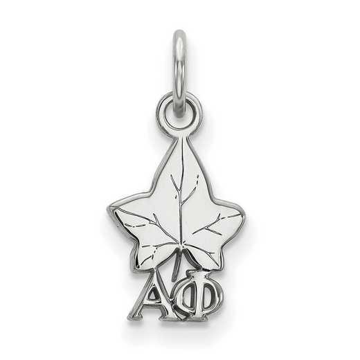 SS034APH: Sterling Silver LogoArt Alpha Phi XS Pendant