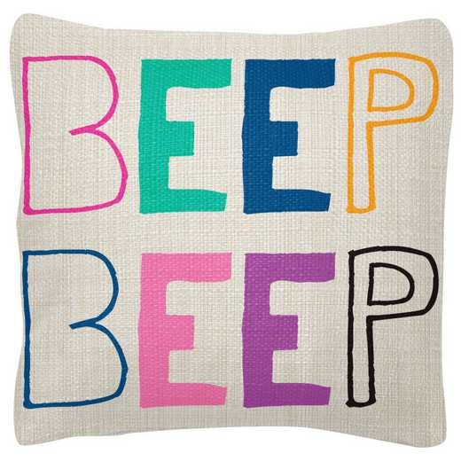 WT103969: SQUARE PILLOWS BEEP BEEP