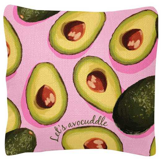WT103980: SQUARE PILLOWS AVOCADO