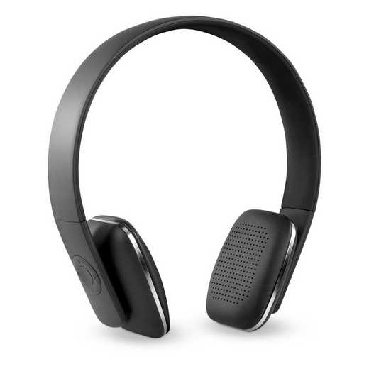 ITHWB-700-BK: IT Wireless BT Headphones with Rubber Finish, Black