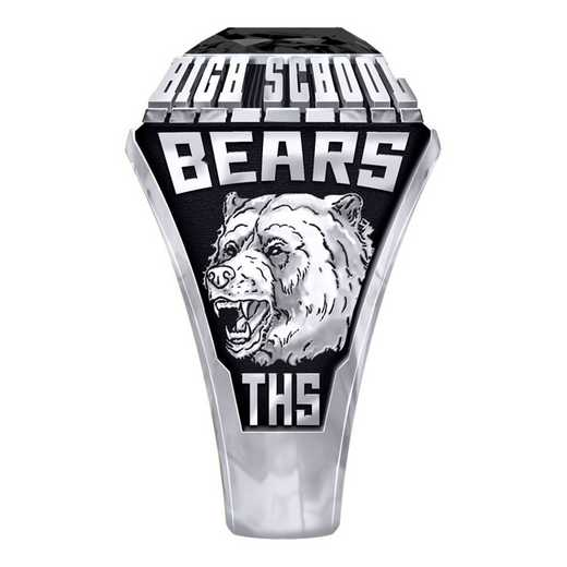 Men's Timpson High School Official Ring