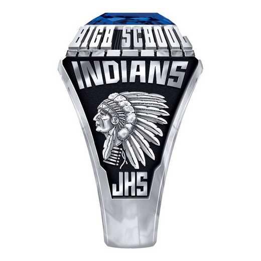 Men's Jacksonville High School Official Ring