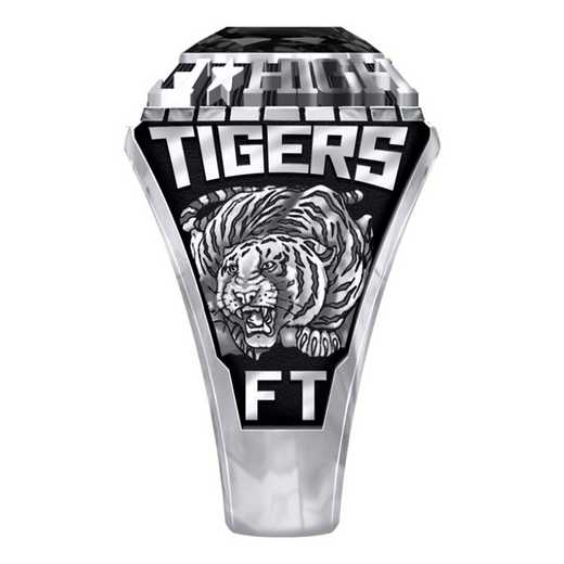 Men's Fort Towson High School Official Ring