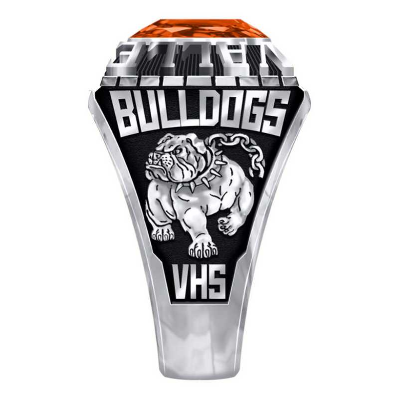 Men's Valliant High School Official Ring