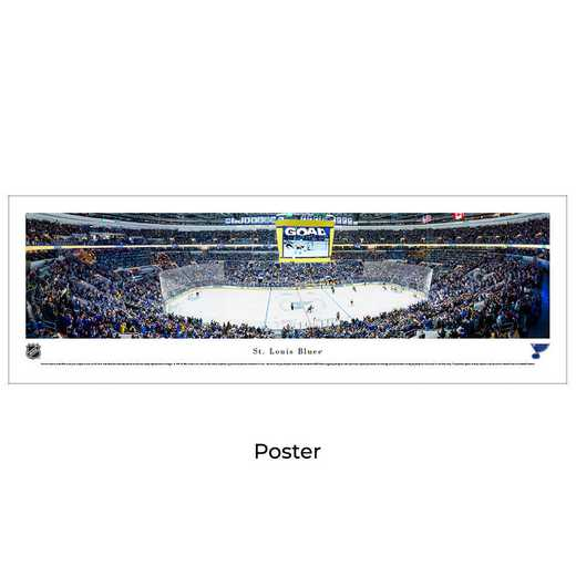 NHLBLU4: St. Louis Blues Hockey #4 - Unframed