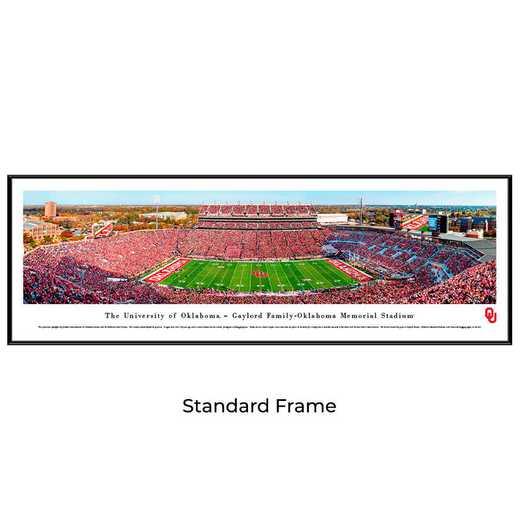 UOK8F: Oklahoma Sooners Football #8 (50 YD) - Standard