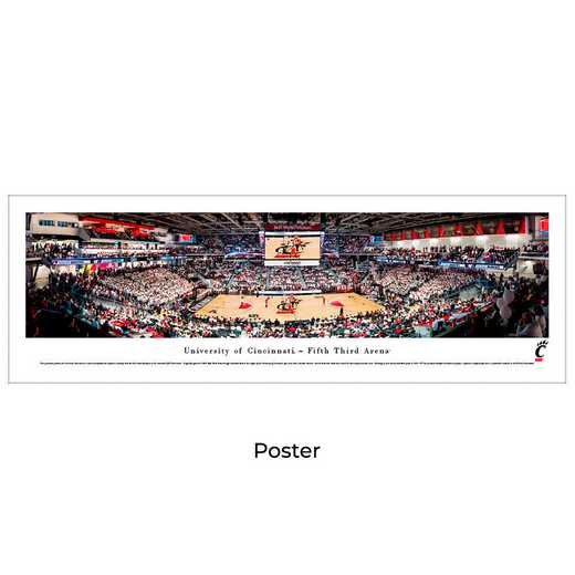 UCIN3: Cincinnati Bearcats Basketball #3 - Unframed Poster