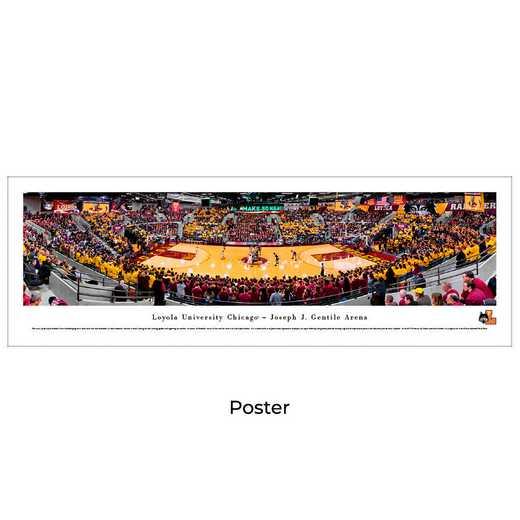 LOYU1: Loyola Ramblers Basketball #1 - Unframed Poster