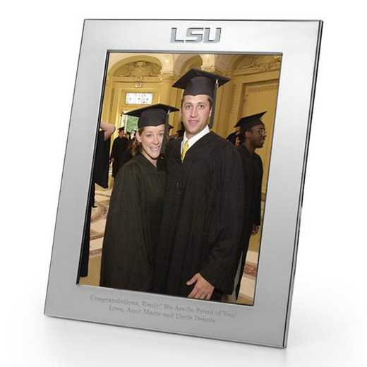 615789833291: LSU plshed Pewter 8x10  Frame by M.LaHart & Co.
