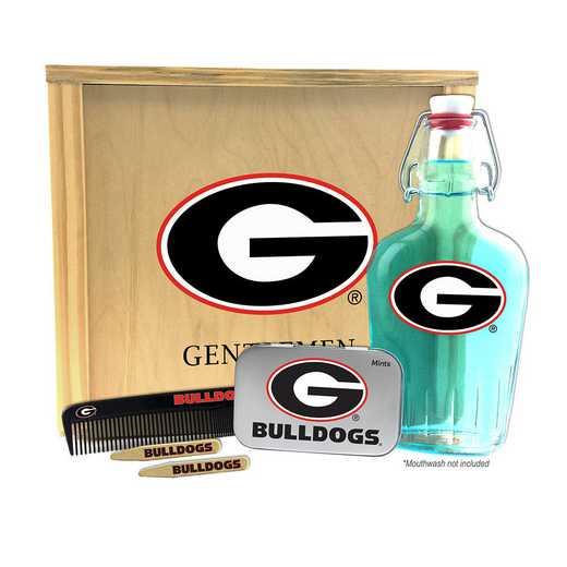 GA-UGA-GK2: Georgia Bulldogs Gentlemen's Toiletry Kit Keepsake