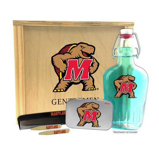 MD-UM-GK2: Maryland Terrapins Gentlemen's Toiletry Kit Keepsake