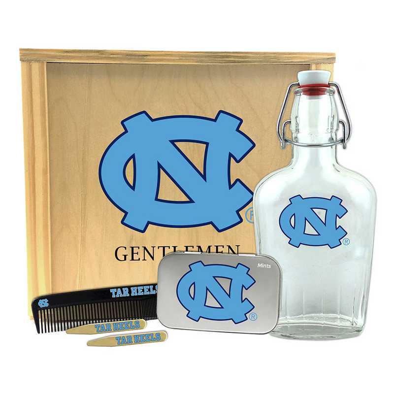 NC-UNC-GK2: North Carolina Tar Heels Gentlemen's Toiletry Kit Keepsake