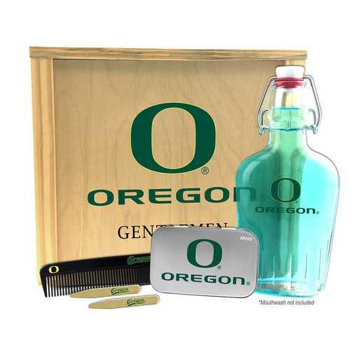 OR-UO-GK2: Oregon Ducks Gentlemen's Toiletry Kit Keepsake