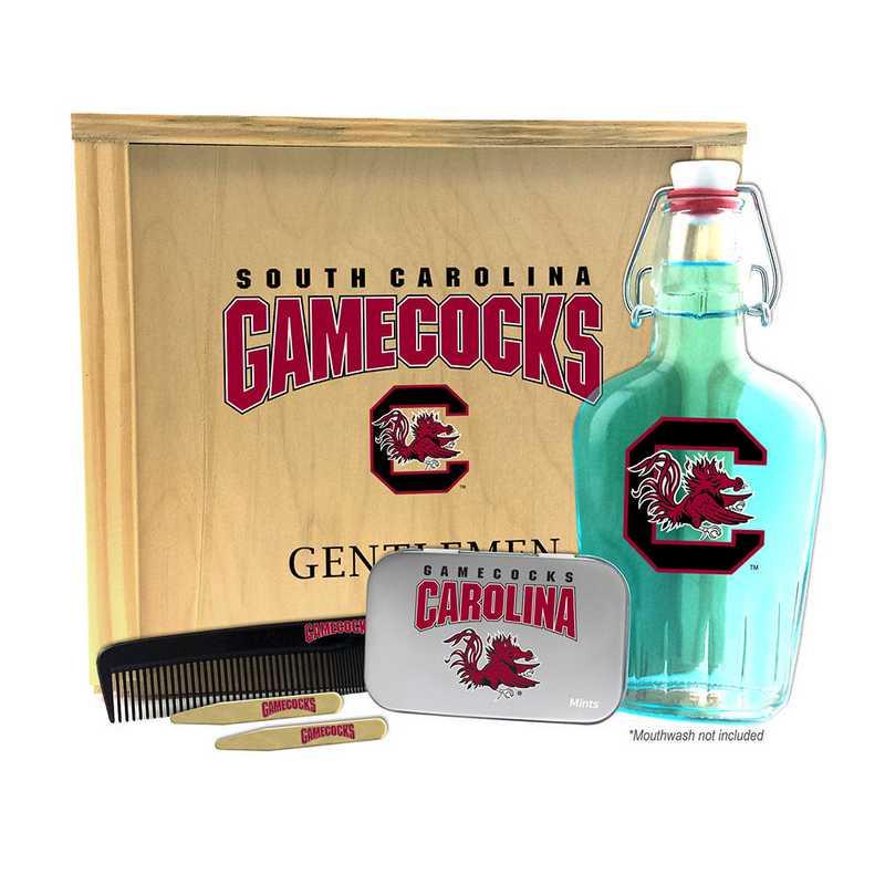 SC-USC-GK2: South Carolina Gamecocks Gentlemen's Toiletry Kit Keepsake