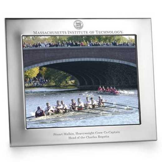 615789245759: Polished Pewter 8x10 Picture Frame (Landscape)