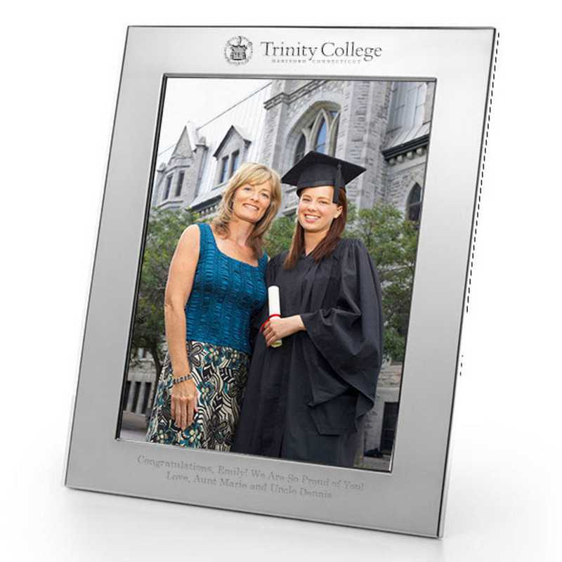 615789820291: Trinity College Polished Pewter 8x10 Picture Frame