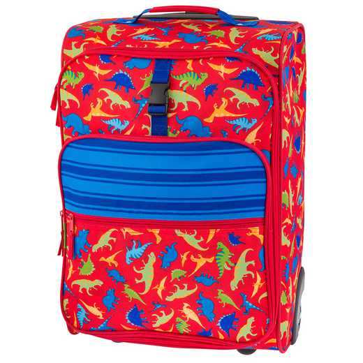 SJ115259: SJ  ALL OVER PRINT ROLLING LUGGAGE DINO