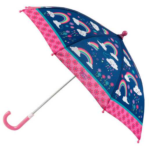SJ870118Z: SJ  All Over Print UMBRELLA RAINBOW