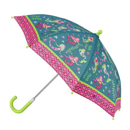 SJ870128Z: SJ  All Over Print MERMAID UMBRELLA