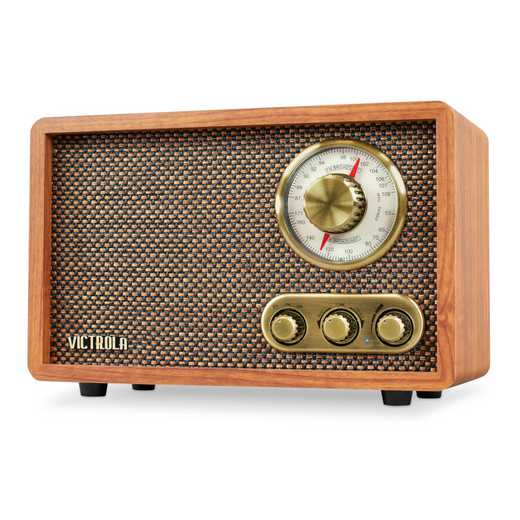 VRS-2800-WLN: IT Victrola Retro Wood BTwith Rotary Dial, Walnut