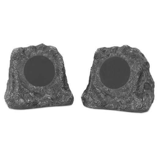 ITSBO-513P5: IT Pair of Wireless WP BT Outdoor Rock Speakers