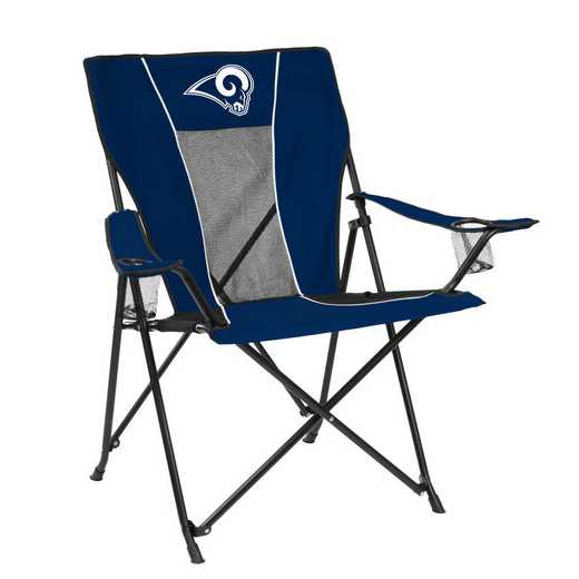 629-10G-1: LB LA Rams Navy/White Game Time Chair