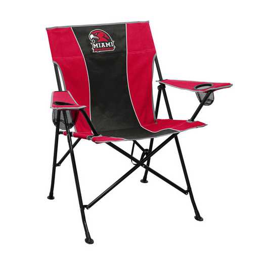 170-10P: LB Miami Ohio Pregame Chair
