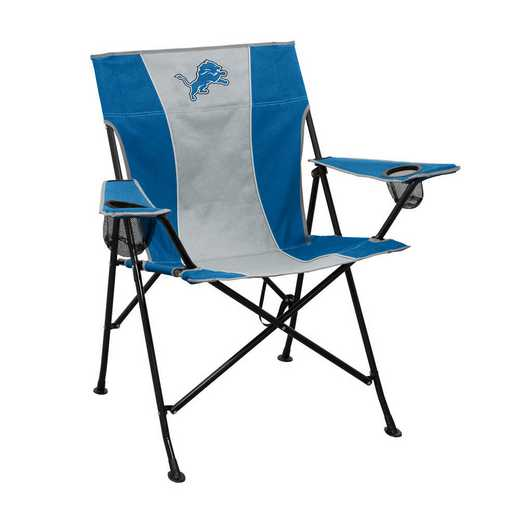 611-10P: LB Detroit Lions Pregame Chair