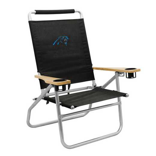 605-16B: LB Carolina Panthers Beach Chair