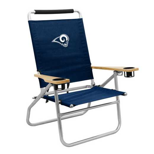 629-16B: LB LA Rams Beach Chair