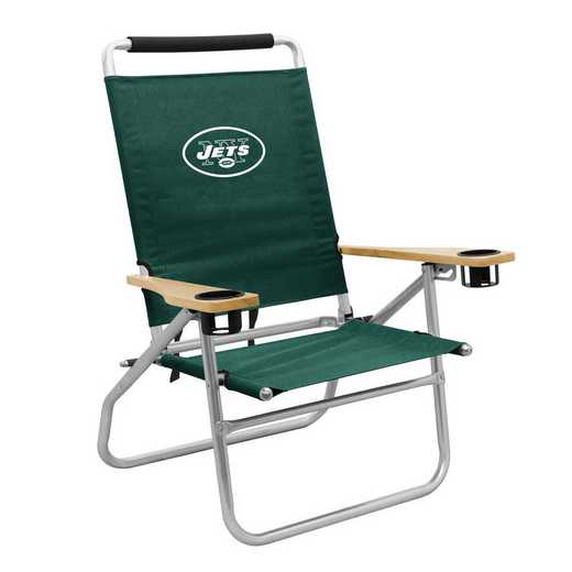622-16B: LB New York Jets Beach Chair