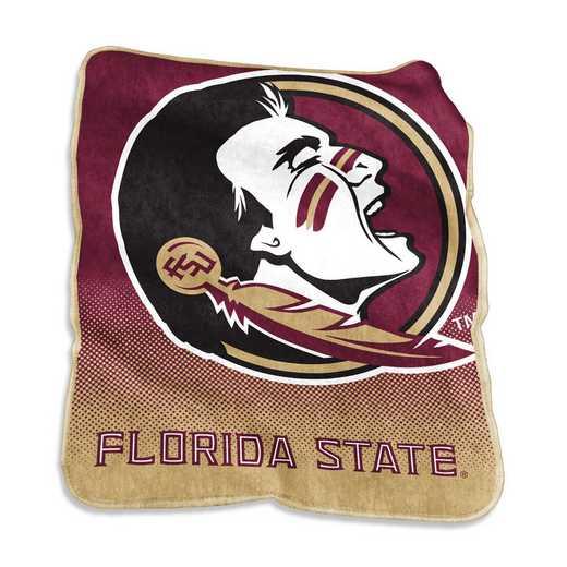 136-26A: LB FL State Raschel Throw