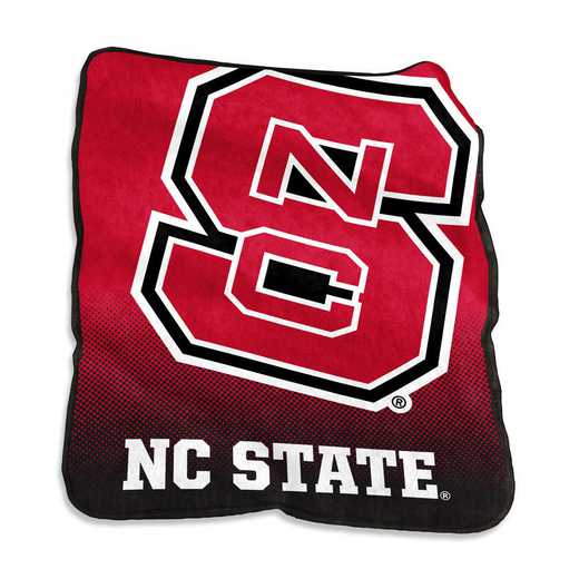 186-26A: LB NC State Raschel Throw