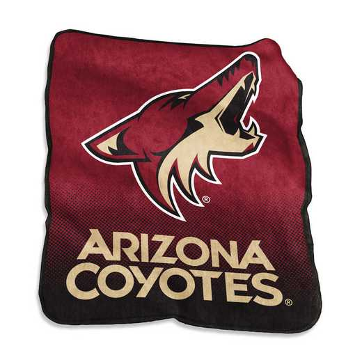 823-26A: LB Arizona Coyotes Raschel Throw