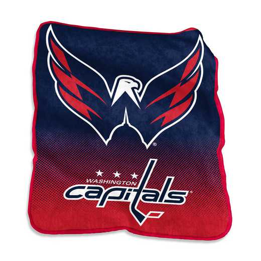 830-26A: LB Washington Capitals Raschel Throw
