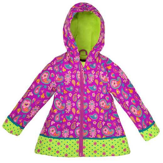 Stephen Joseph Paisley Garden All-Over Print Raincoat