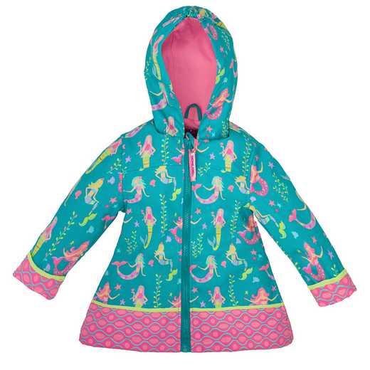 Stephen Joseph Princess All-Over Print Raincoat