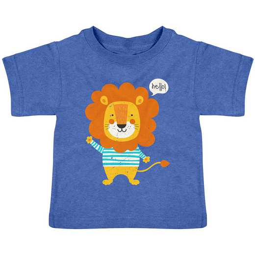 Stephen Joseph Lion Heathered Shirt