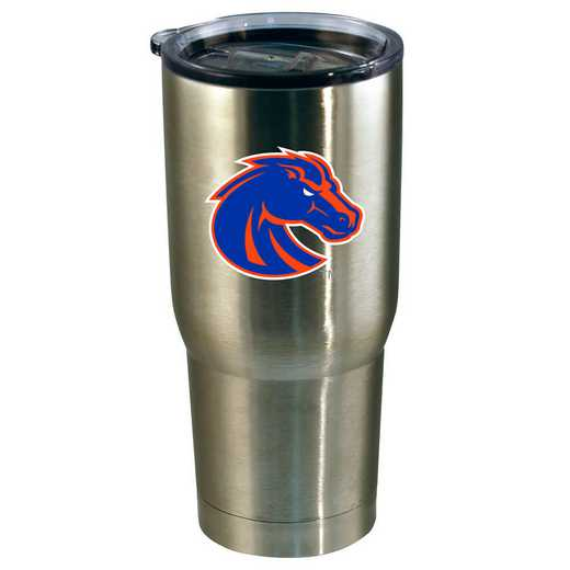 COL-BOS-720101: 22oz Decal SS Tumbler Boise St