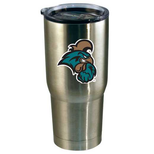 COL-COC-720101: 22oz Decal SS Tumbler-Coastal Carolina