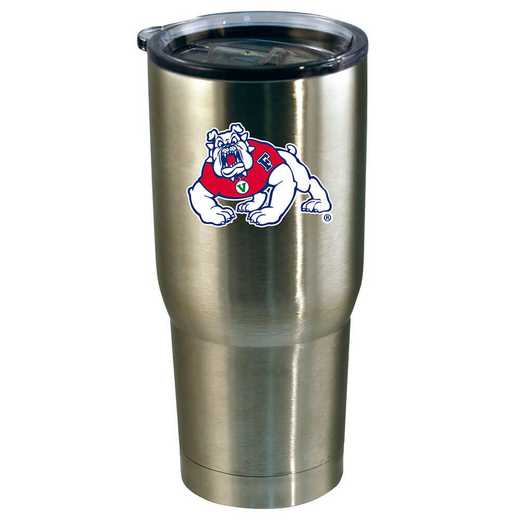 COL-FRS-720101: 22oz Decal SS Tumbler Fresno St