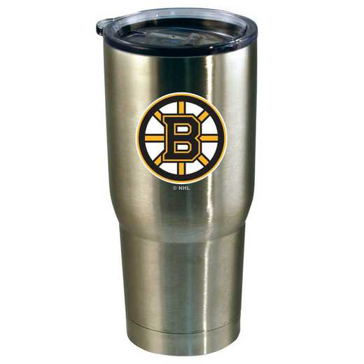 NHL-BBR-720101: 22oz Decal SS Tumbler Bruins
