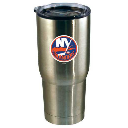 NHL-NYI-720101: 22oz Decal SS Tumbler Islanders