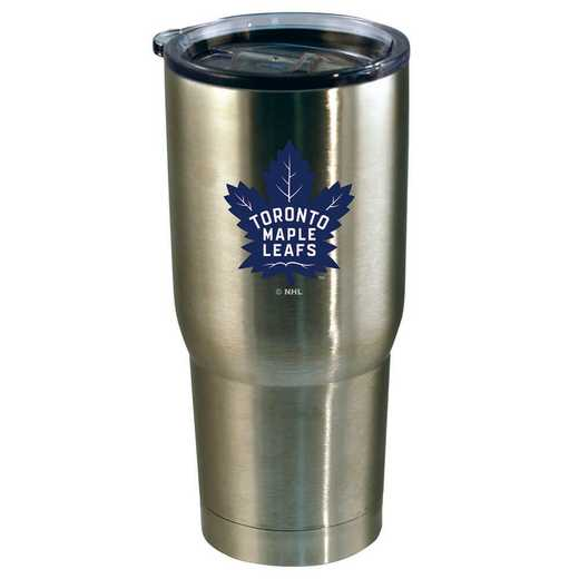 NHL-TML-720101: 22oz Decal SS Tumbler Maple Leafs
