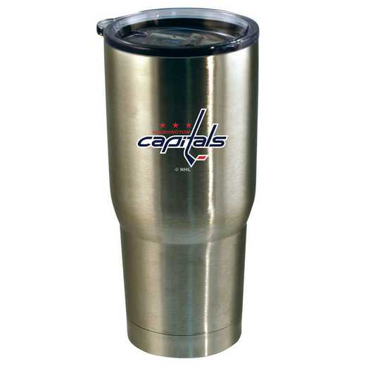 NHL-WCA-720101: 22oz Decal SS Tumbler Capitals